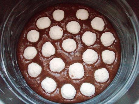 изображение Пирог с творожными шариками рецепт с фото