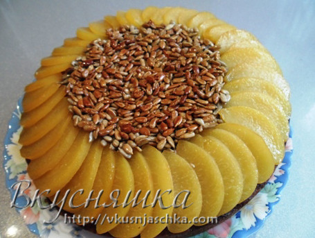 изображение Пирог Подсолнух рецепт с фото