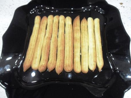 изображение Торт дамские пальчики из заварного теста рецепт с фото