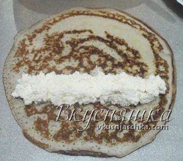 изображение Пирог из блинов рецепт с фото