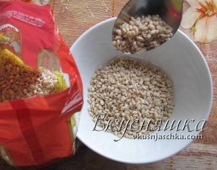 изображение Суп с перловкой рецепт с фото