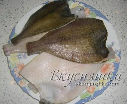 изображение Жареная камбала на сковороде рецепт
