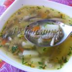 """изображение """"Рецепт грибного супа из вешенок с фото"""""""