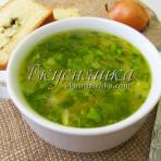 изображение Рисовый суп с курицей рецепт с фото