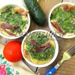 изображение Омлет в духовке рецепт с фото пышный