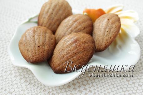 изображение Печенье Мадлен классический рецепт