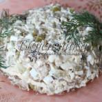 изображение Салат с грибами и курицей рецепт с фото очень вкусный