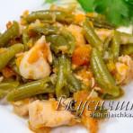 изображение Курица с овощами в мультиварке рецепт с фото