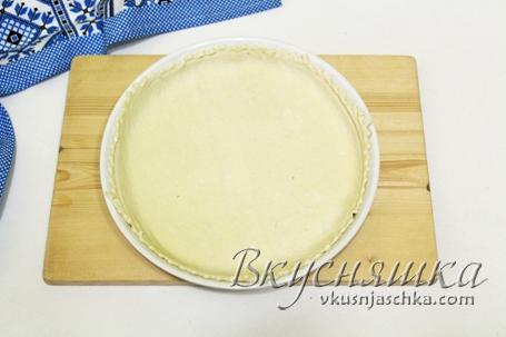 слоеный пирог с грушами