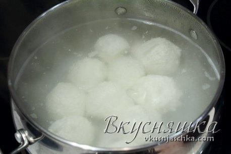 изображение Творожные шарики рецепт с фото пошагово