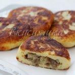 изображение Картофельное тесто для пирожков на сковороде