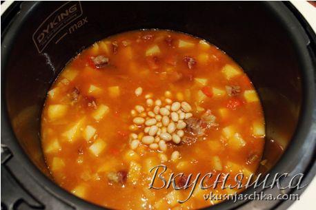 изображение Рецепт супа в мультиварке с фото пошагово