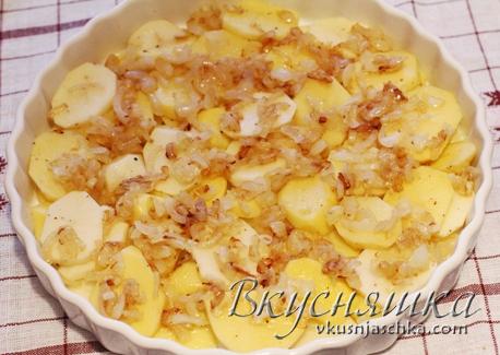 изображение Куриные голени с картофелем в духовке