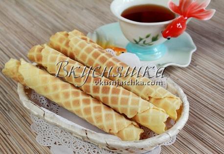 изображение Тесто для вафель в электровафельнице рецепт с фото