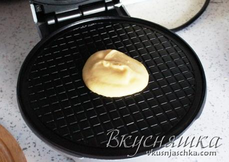 рецепт вафель для электровафельницы