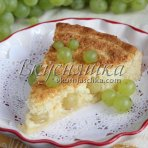 изображение Творожный пирог с яблоками рецепт с фото пошагово в духовке