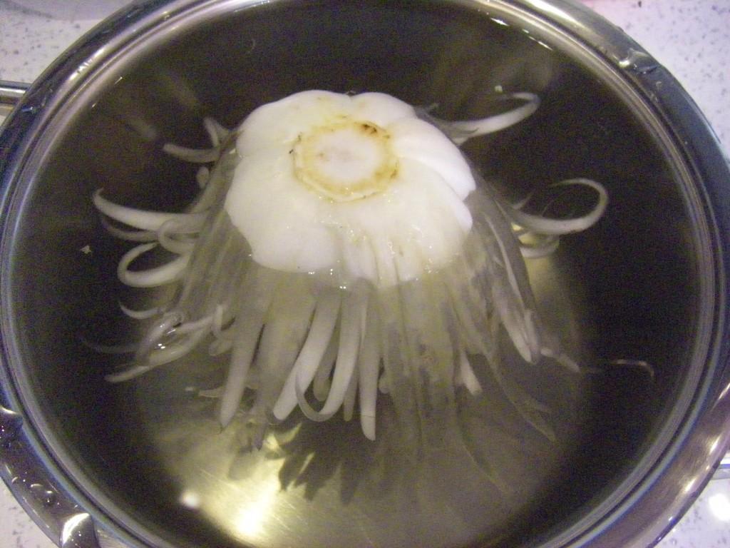 Хризантема из пекинской капусты – кулинарный рецепт