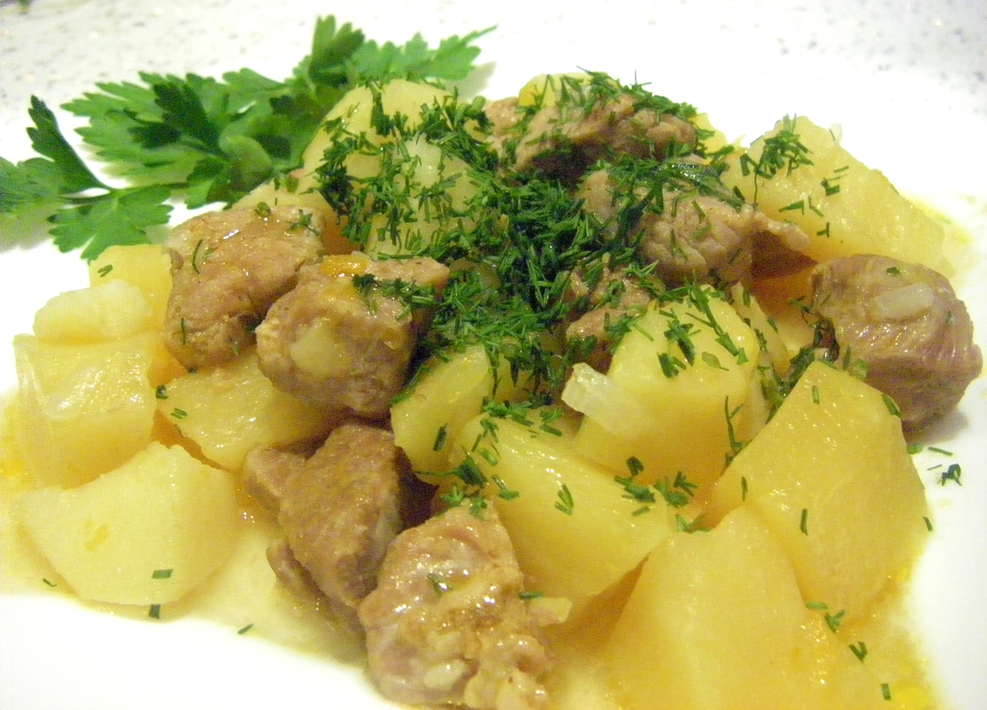 Рецепты в мультиварке фото картофель с мясом