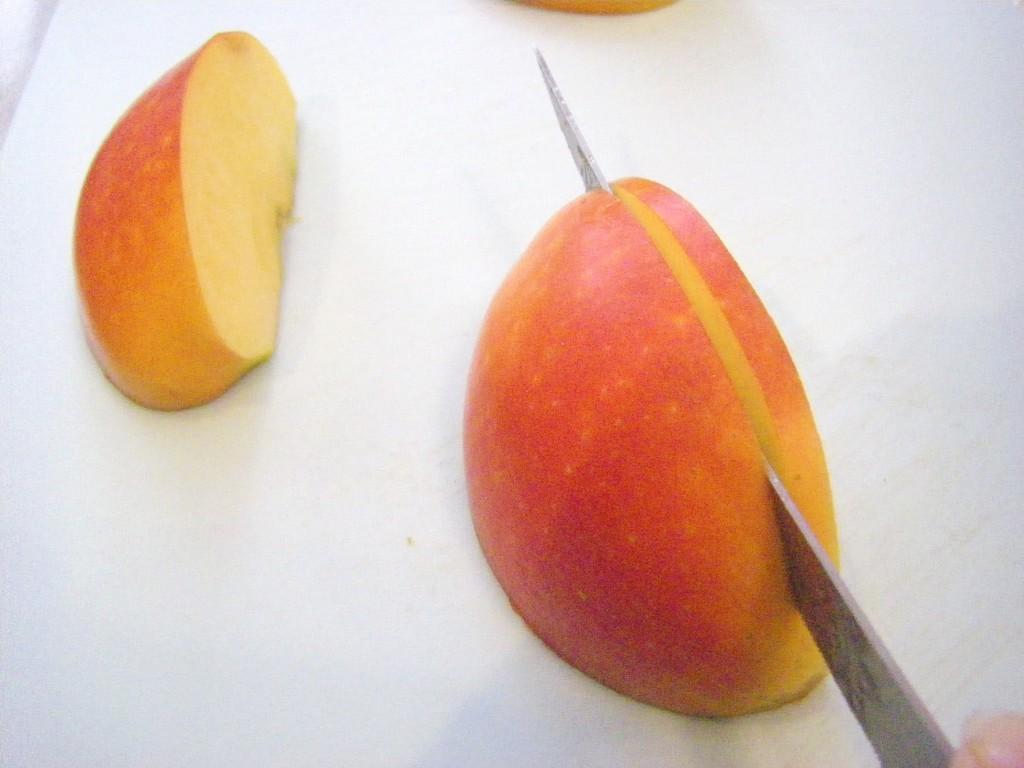 Как красиво нарезать яблоки пошаговое фото