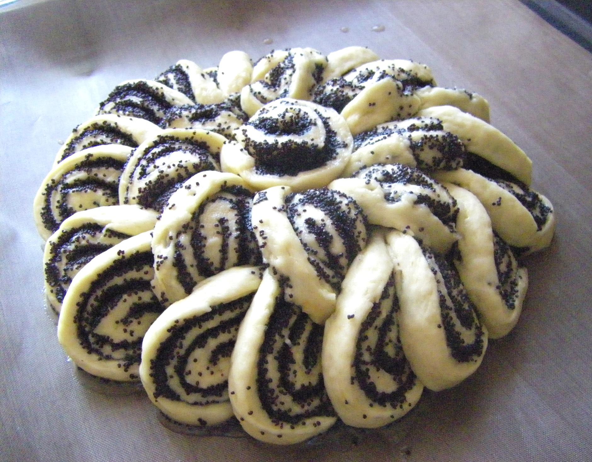 Пирог маком с фото