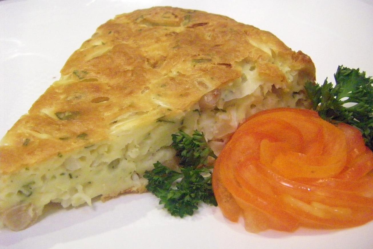 Пирог и капустой и рыбой рецепт с фото пошагово в духовке