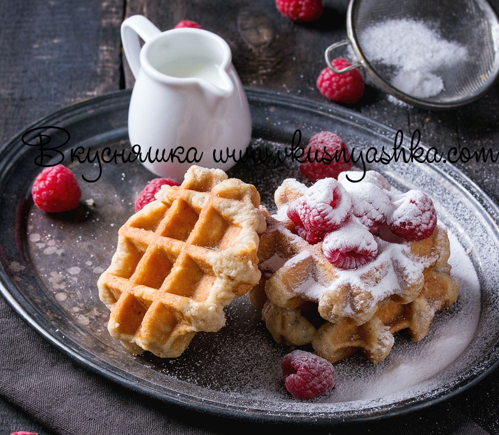 изображение Рецепты теста для Электрической вафельницы
