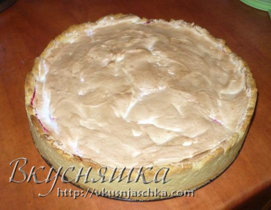 Клюквенный пирог