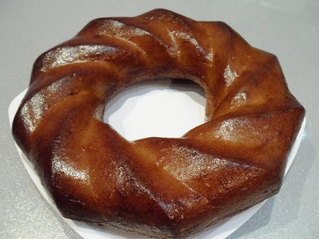 изображение Кекс с вареной сгущенкой рецепт с фото