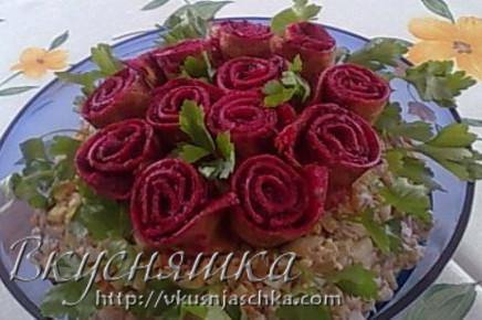 Рецепт салатов на годовщину свадьбы