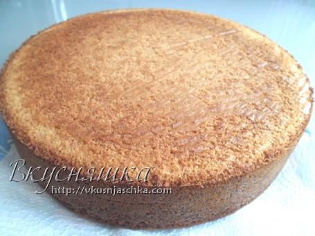 Изображение, рецепт медового бисквита пошагово