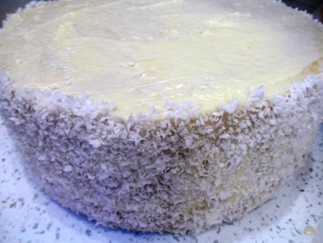 """Бисквитный торт """"Ананасовый"""""""