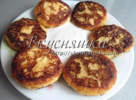 Сырники с тыквой
