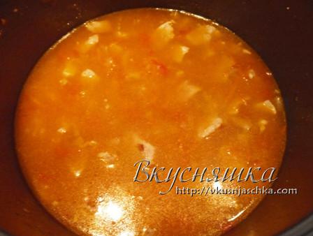 изображение Перловая каша с мясом в мультиварке рецепт с фото