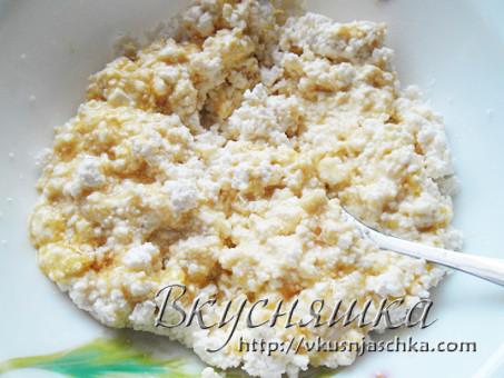 Рецепт сырников с медом