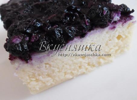 изображение Творожная запеканка в духовке рецепт с фото