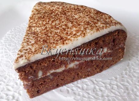 простой торт в мультиварке пошаговый рецепт с фото