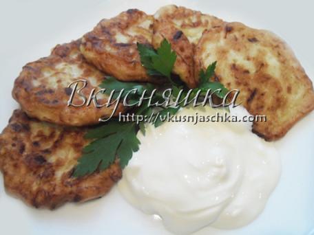 изображение Оладьи из кабачков рецепты с фото простые и вкусные