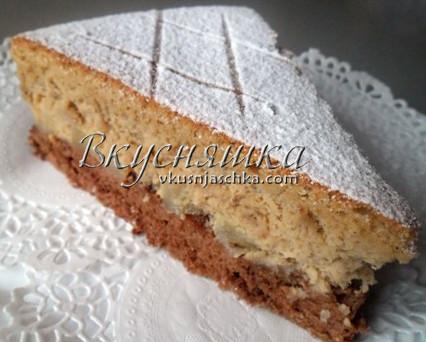 """Сырный торт-суфле """"Гауда"""""""