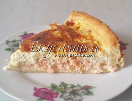 изображение Пирог с рыбой в духовке пошаговый рецепт с фото