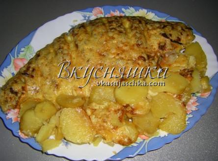 изображение Карп в духовке рецепт с фото пошагово