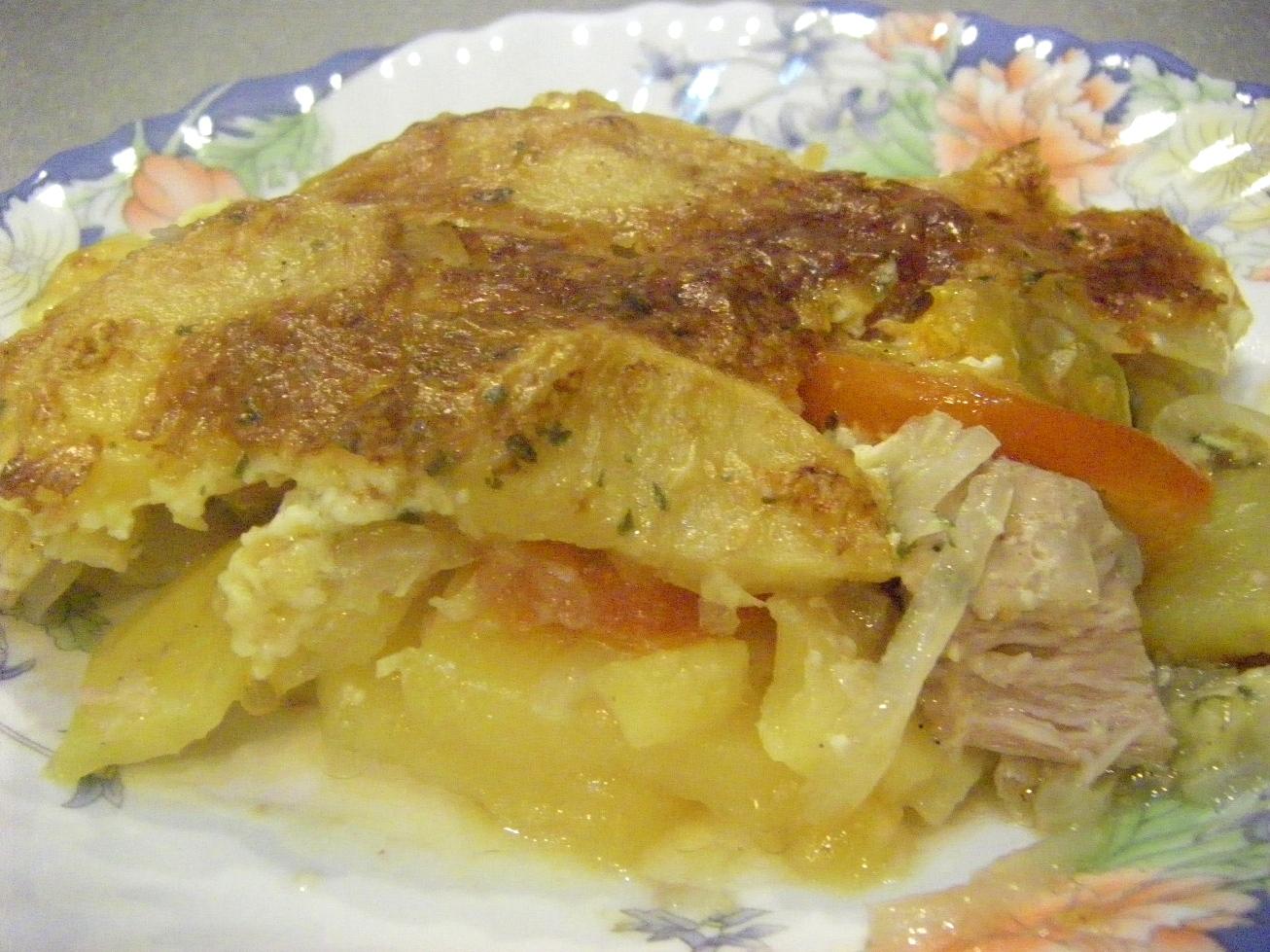 Минтай рецепты в духовке с картошкой пошагово в