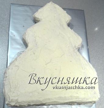 новогодний торт елка