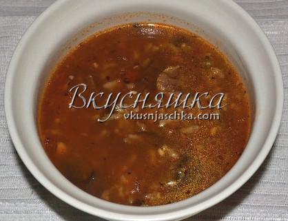 изображение Суп харчо рецепт с фото пошагово