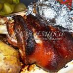 изображение Свиная рулька запеченная в духовке рецепт с фото