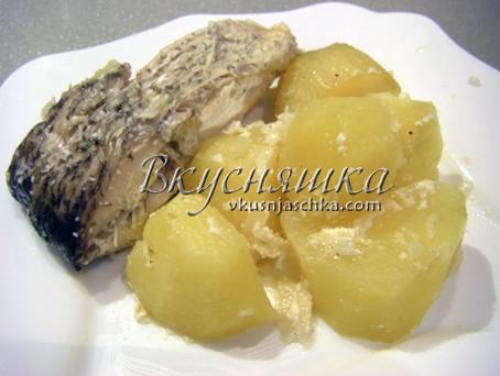 изображение Запеченный карп в духовке рецепт с фото