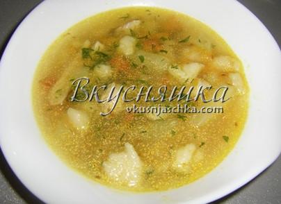 Суп с клецками как в детском саду пошаговый рецепт