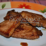 изображение Свинина в соевом соусе на сковороде рецепт с фото