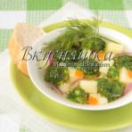 изображение Диетический овощной суп рецепт стол 5