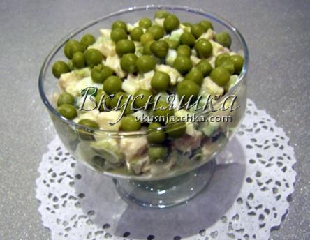 салат изумрудная россыпь рецепт с фото пошагово