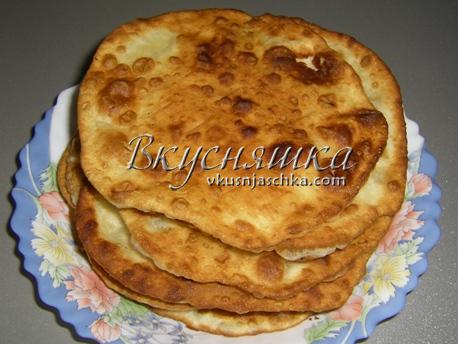 изображение Рецепт теста для пирожков на сковороде жареных